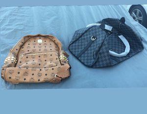 MCM Book Bag LV duffel bag for Sale in Baltimore, MD