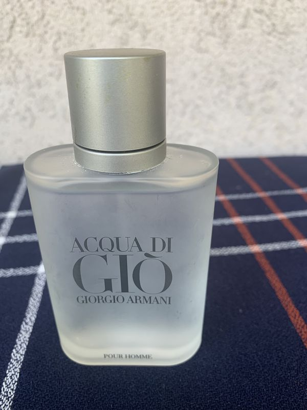 Aqua do gio perfume 3.4 oz used