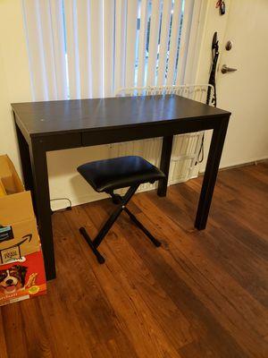 Black Wooden Desk for Sale in San Diego, CA