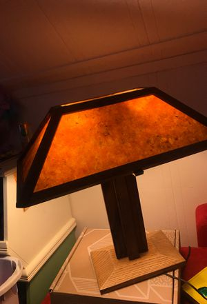 Antique wooden lamp for Sale in Eagle Creek, OR