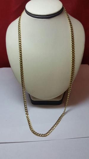 18k yellow gold chain 750 stamp for Sale in Philadelphia, PA