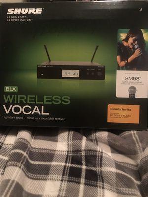 Shure Wireless microphone for Sale in Keller, TX
