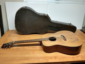 YAMAHA Acoustic Guitar FG-140 made in Japan, Nippon gakki with case red label for Sale in Carmichael, CA
