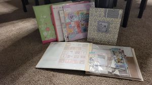 Scrapbooks, wedding and toddler. Wedding one includes alot of fancy additional stickers for Sale in Joliet, IL