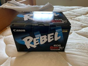 Cannon Rebel DSLR Camera for Sale in San Mateo, CA