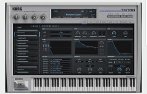 Korg Triton vst for Sale in Cleveland, OH