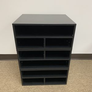 Sturdy Printer Stand And Organizer Desk For Home & Office, Black. for Sale in Duluth, GA