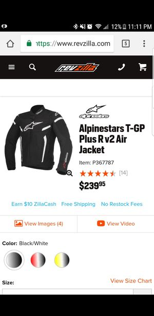 Alpine stars Motorcycle Jacket for Sale in Salt Lake City, UT