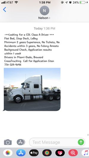 Truck driver for Sale in Seattle, WA
