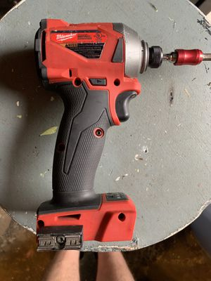 M18 Milwaukee 1/4 impact drill and battery for Sale in Newburgh, IN