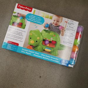 Fisher Price Double Poppin Dino for Sale in Turlock, CA