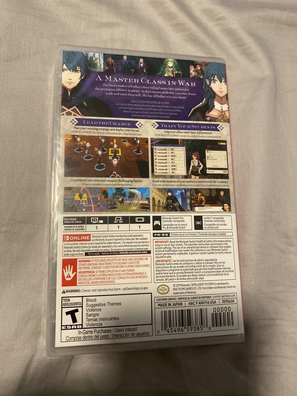 Fire Emblem Three Houses for Nintendo Switch - Brand New