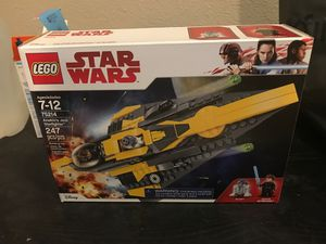 LEGO Star Wars Jedi Starfighter w/ Anakin 75214 for Sale in Denver, CO