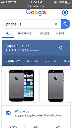 iPhone 5s for Sale in Mayfield, KY
