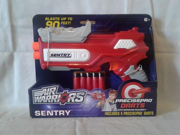 AIR WARRIOR SENTRY NERF GUN