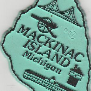 Michigan Mackinac Island magnet for refrigerator, locker, metal cabinets, etc for Sale in Stockton, CA
