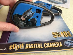 "Batman Theme - Kids Digital Camera ""Clip It!"" for Sale in Poway, CA"