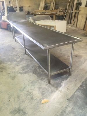 12ft long stainless steel table for Sale in Charlotte, NC