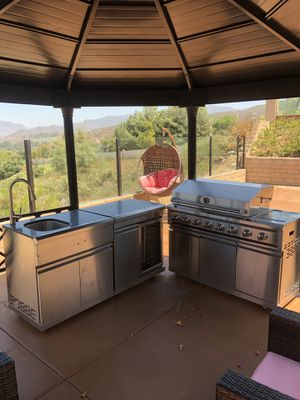 Stainless Steel BBQ Set for Sale in San Diego, CA