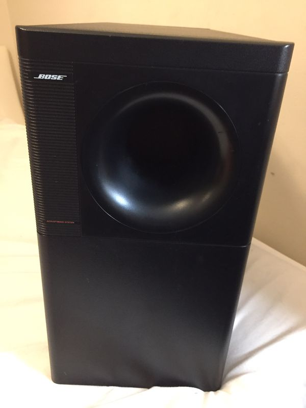 Bose Acoustmass 5 series Directs/ reflecting speakers system