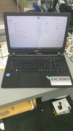 Acer laptop notebook computer intel 4gb ram 500gb hdd for Sale in Baltimore, MD