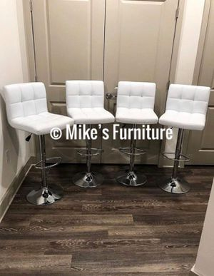 New 4 white stools for Sale in Orlando, FL