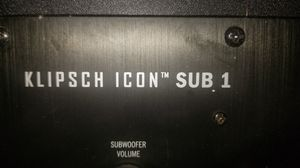 Klipsch Icon Sub 1 for Sale in Los Angeles, CA
