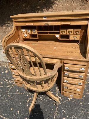 Wood Desk for Sale in Poway, CA