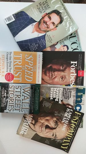 Business books , business and self improving magazine for Sale in Charlotte, NC