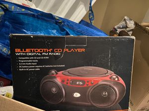 Bluetooth CD player with radio for Sale in Phoenix, AZ