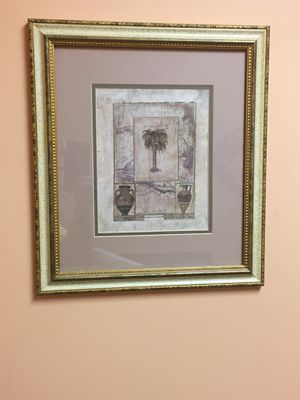 Framed Palmetto tree art for Sale in Orangeburg, SC
