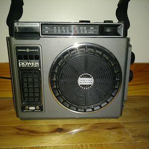 FM/8 Track Portable Boombox Radio GE 3-5510A for Sale in Traverse City, MI