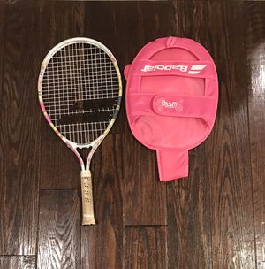 Babolat kids tennis racket with cover for Sale in Vienna, VA