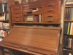 Antique Pull Down Executive Desk for Sale in Street, MD