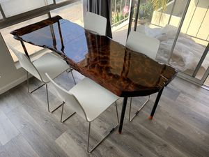Custom wood table for dining or desk for Sale in Los Angeles, CA