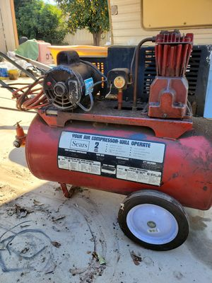 Sears Air Compressor for Sale in Norco, CA