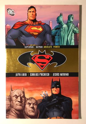 Batman Superman Graphic Novel Comic Book Like New for Sale in Montgomery Village, MD