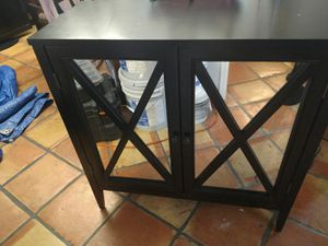 "Storage Cabinet 2 Door, 32"" tall 32 long, 13.5"" deep for Sale in Lauderhill, FL"