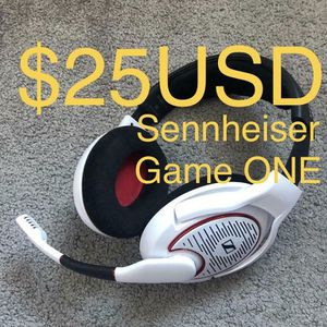 Sennheiser Game One - works with: PC / XBOX / PS4 / MOBILE for Sale in Riverside, CA