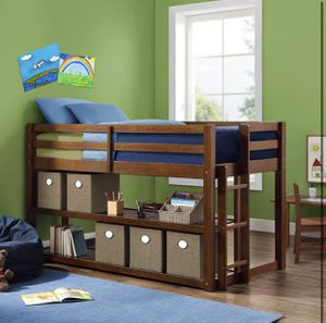 Twin loft bed with bookshelf - New for Sale in Taylor, MI