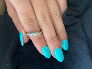Diamond ring 10k white gold for Sale in Fort Lauderdale, FL