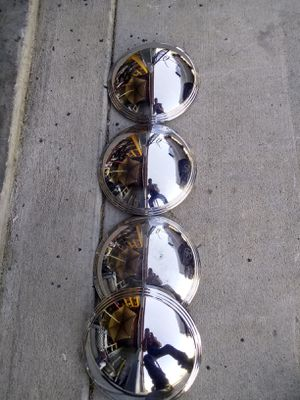 Vintage Chrome Light Fixture covers for Sale in Aurora, CO