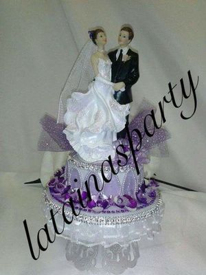 Any cake topper or centerpieces you would like for Sale in Jersey City, NJ
