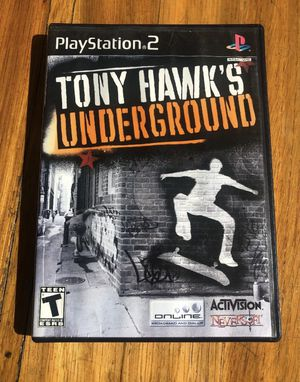 Tony hawks under ground Ps2 PlayStation for Sale in Providence, RI