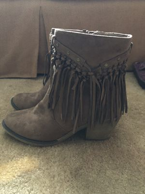 Brown Fringe Boot for Sale in Bermuda Run, NC