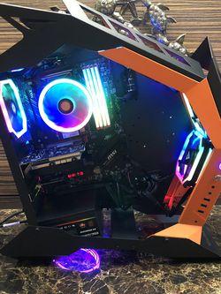 New RGB Desktop, 32GB DDR4, 8 Core 16 Thread Ryzen 7, RX550 4GB GDDR5, 500GB M.2, 2TB HD, Win 10 64 for Sale in Vancouver,  WA
