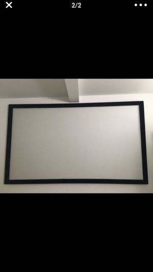 High quality 120 inch projector screen for Sale in Portland, OR