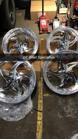 """In stock. No wait. 24"""" Billet Specialties for GBody. for Sale in Chicago,  IL"""