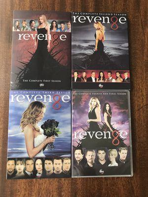 DVD Revenge Complete tv series 1-4 read discription below for Sale in Swormville, NY