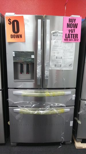 WHIRLPOOL💕refrigerator💕 OPEN SUNDAY💕 buy now pay later 💕 we accept itin 🌛only 0-40$ down 💒no credit needed 💒 ask 4 yasmine 4 discount for Sale in Riverside, CA